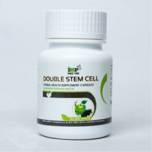 Indian Herbo Pharma - Double Stem Cell Herbal Health Supplement Capsules